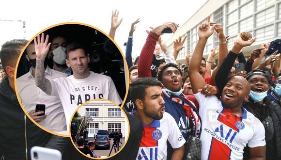 Lionel Messi aterriza en París en medio de la locura: Neymar le da la bienvenida